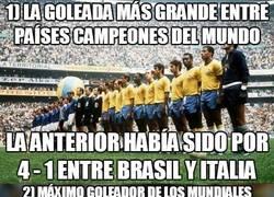 Enlace a 10 récords que se batieron en la aplastante victoria de Alemania ante Brasil