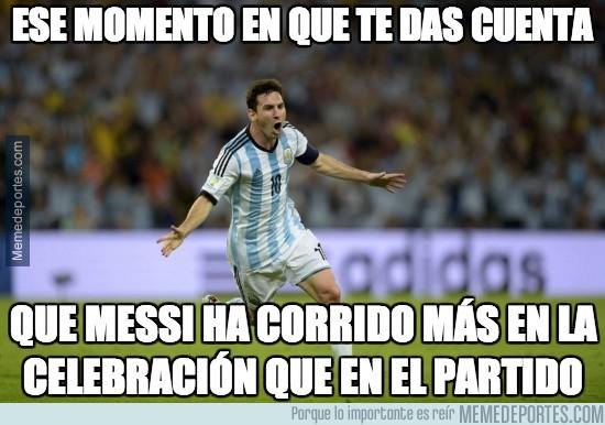 359164 - Y Messi ya tiene su ansiada final