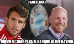 Enlace a Juan Bernat, buen fichaje para el banquillo