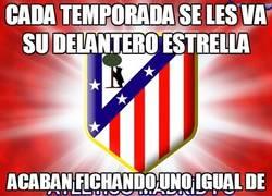 Enlace a El Atlético de Madrid y los delanteros