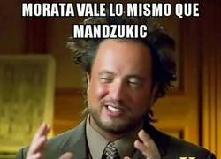 Enlace a Mandzukic vale lo mismo que Morata