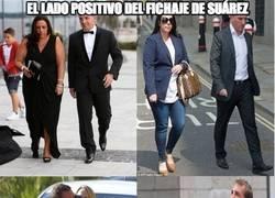 Enlace a Viendo el lado positivo del fichaje de Suárez...