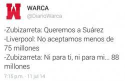 Enlace a Así fue la negociación por Luis Suárez