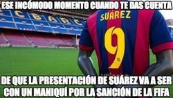 Enlace a ¿Cómo va a presentar el Barça a Suárez?