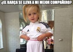 Enlace a Gerrard provocando con su hija vestida del Real Madrid