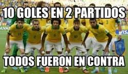 Enlace a Palmarés de Brasil en estos dos últimos partidos