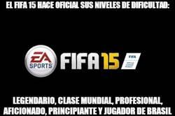 Enlace a Nuevos niveles de dificultad en el FIFA15