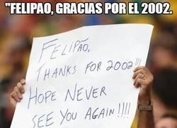 Enlace a Felipao, siempre en el recuerdo de los brasileños. Y no para bien