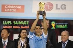 Enlace a El premio que no podía faltar ¡El diente de oro del mundial es para Luis Suárez!