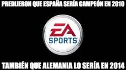 Enlace a Si quieres ganar una porra, hazle caso a EA Sports