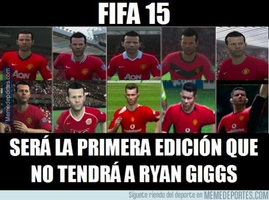 363672 - ¿Qué será de nosotros sin Ryan Giggs en el FIFA?
