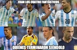 Enlace a Los 4 fantásticos de Argentina
