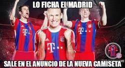 Enlace a Kroos en el anuncio de la nueva camiseta del Bayern de Munich