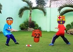 Enlace a Así está la lucha entre Barça y Valencia por Mathieu