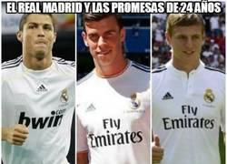 Enlace a El Real Madrid y las promesas de 24 años