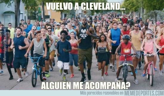 363996 - Reacción de la mayoría de los ''fans'' de Miami al saber la vuelta de LeBron a casa