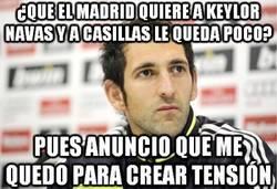 Enlace a ¿Que el Madrid quiere a Keylor Navas y a Casillas le queda poco?