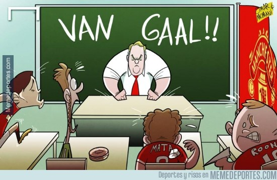 364297 - Van Gaal entra a poner orden en Manchester