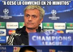 Enlace a Mourinho, un hombre persuasivo donde los haya