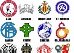 Enlace a Primer escudo de algunos de los mejores equipos de Europa