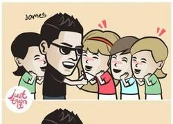 Enlace a James bienvenido a Españ.. Oh wait