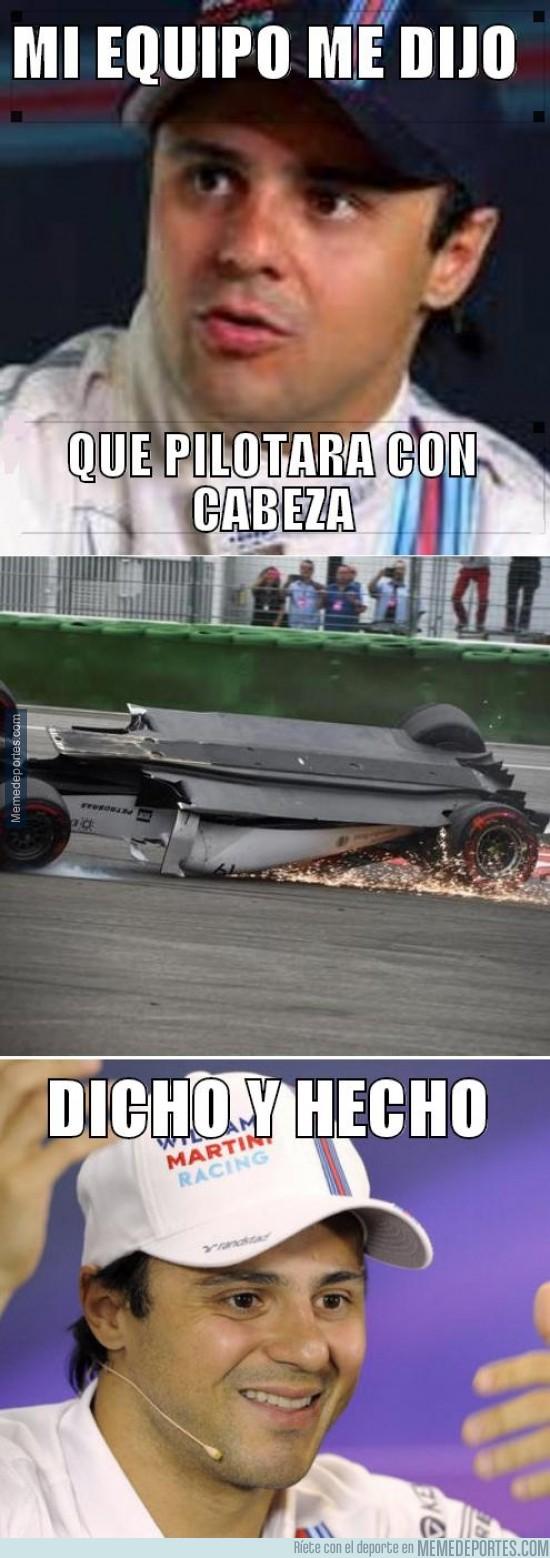 365033 - Massa, pilota con cabeza