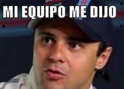 Enlace a Massa, pilota con cabeza
