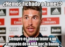 Enlace a Ramos ¿qué te parece el fichaje de James?