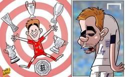 Enlace a Gerrard se retira de Inglaterra. Títulos con el Liverpool pero con Inglaterra...