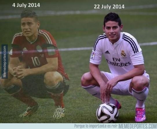 365389 - Cómo te cambian la expresión unos cuantos millones y un fichaje por el Real Madrid