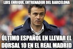 Enlace a Luis Enrique, el 10 del Real Madrid