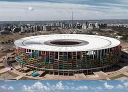 Enlace a Genial idea para reconvertir a los estadios (vacíos) de Brasil 2014: hacer casas dentro de ellos