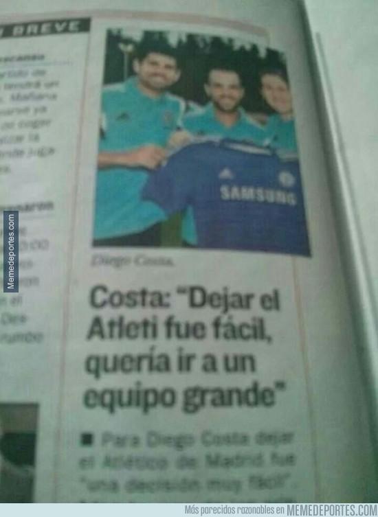 366048 - Diego costa, un mito caído para el Atlético de Madrid con estas declaraciones