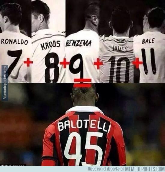 366072 - Y ahora es cuando la autoestima de Balotelli se dispara