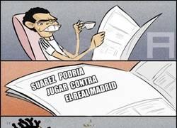 Enlace a Pepe tras saber que Suárez podría estar en el Clásico