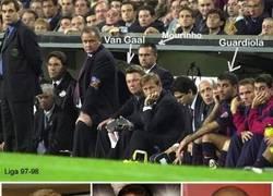 Enlace a El banquillo de leyenda que tenía el Barça