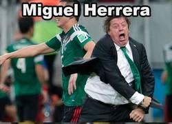 Enlace a Miguel Herrera, ese seleccionador que todos quisiéramos. Menudo juego da