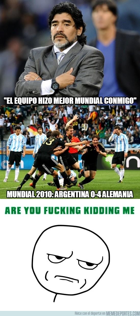 366483 - ¿Estás hablando en serio, Maradona?