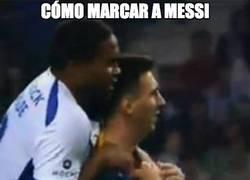 Enlace a Cómo marcar a Messi