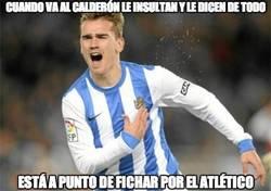 Enlace a Cuando va al Calderón le insultan y le dicen de todo
