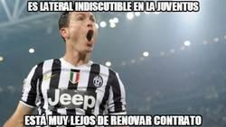 Enlace a Juventus, ¿dejarás ir a Lichtsteiner?