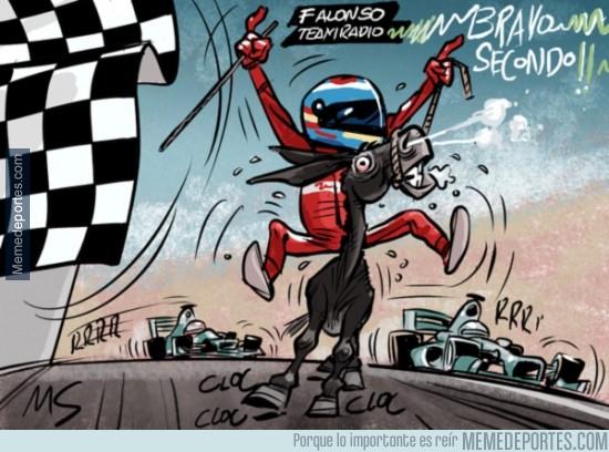 367298 - Resumiendo la carrera de Alonso del pasado fin de semana