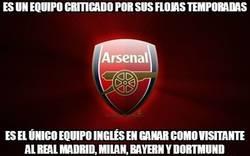 Enlace a Ya podéis criticar al Arsenal tanto como queráis, ¿pero sabíais esto?