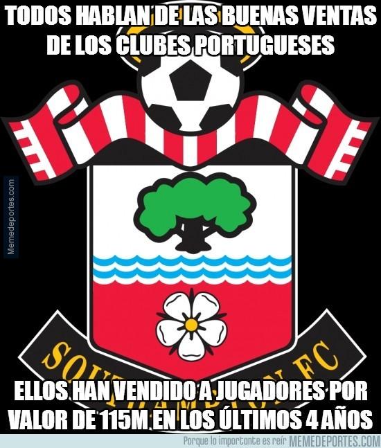 367404 - A ver si el Southampton va a acabar siendo un equipo portugués...