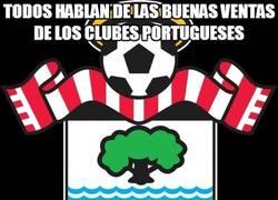 Enlace a A ver si el Southampton va a acabar siendo un equipo portugués...