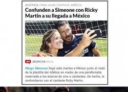 Enlace a Confunden al Cholo en México con...