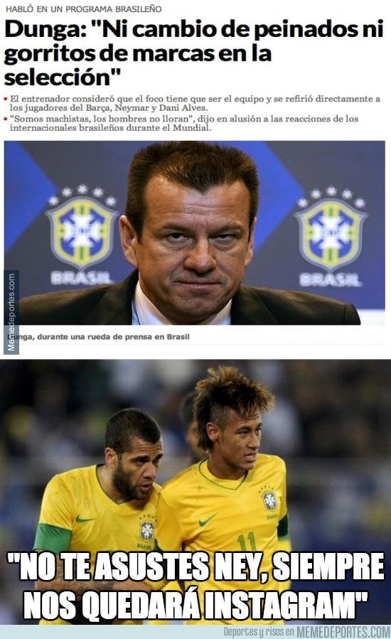 367630 - Parece que Dunga no va a permitir más tonterías en la selección brasileña