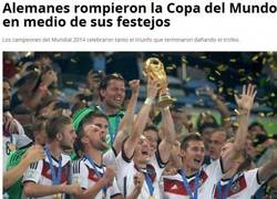 Enlace a Uy lo que pasó con la Copa del Mundo ganada por los alemanes...