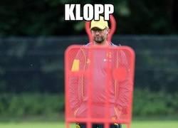 Enlace a Klopp, lugar adecuado, momento adecuado