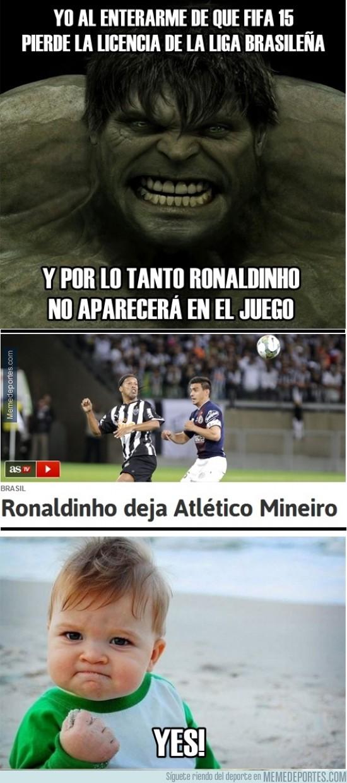 368621 - Todavía no es imposible ver a Ronaldinho en FIFA 15